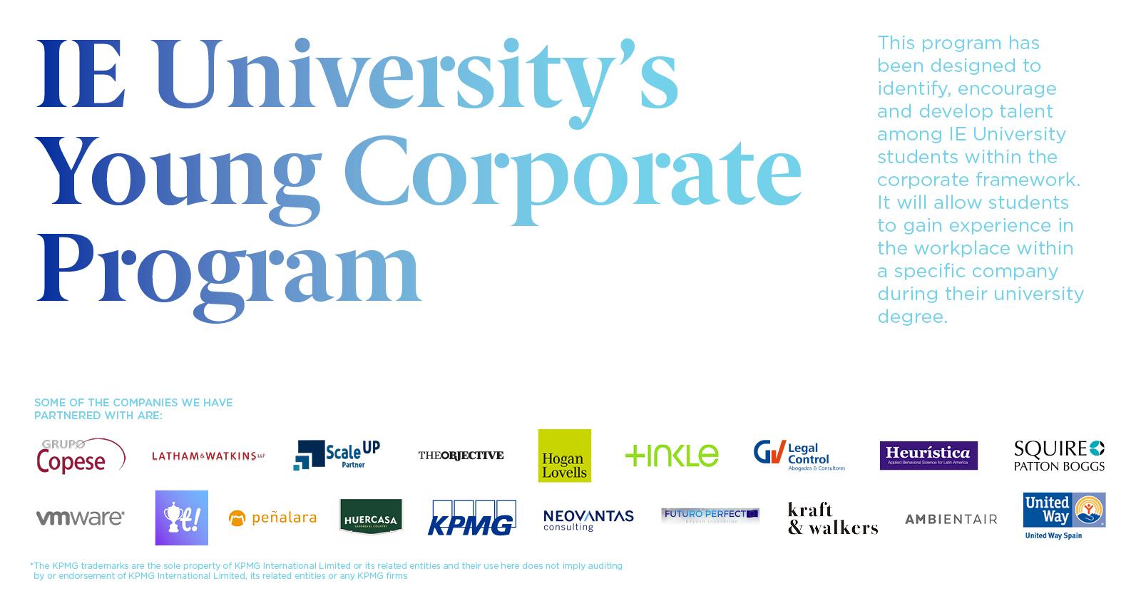 Peñalara participa en el programa The Young Corporate Program